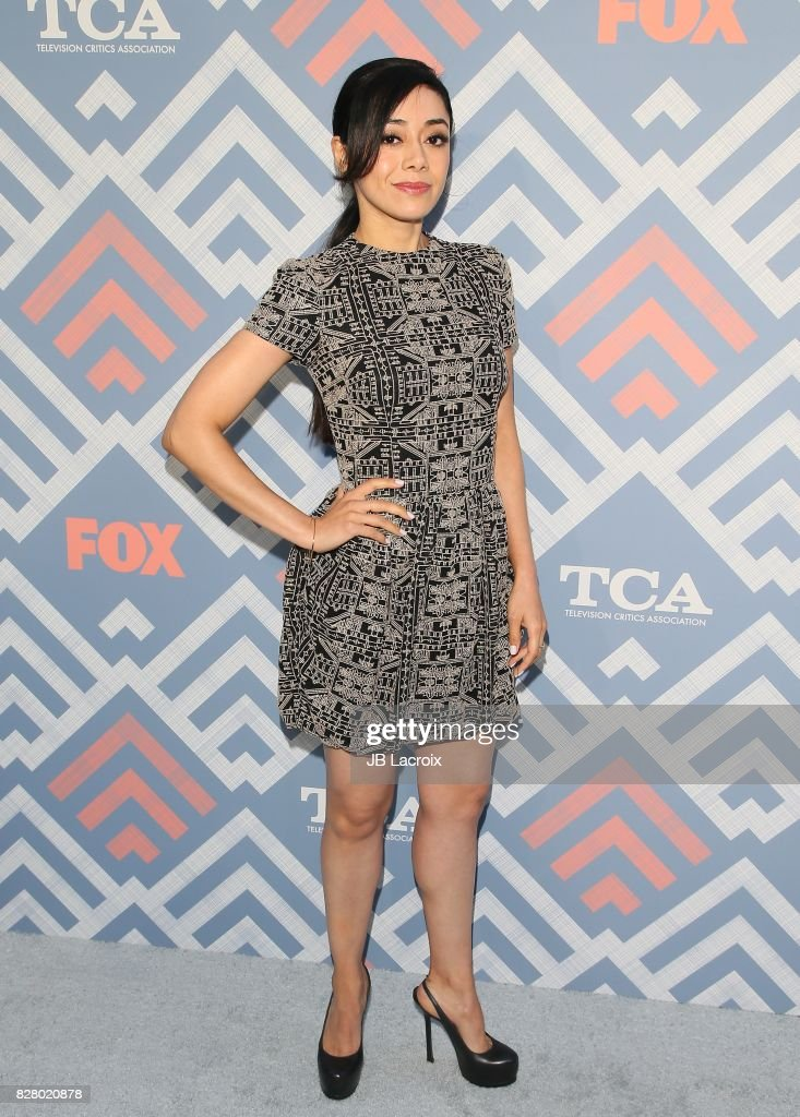 Aimee Garcia attends the 2017 Summer TCA Tour 'Fox' on August 08, 2017 in Los Angeles, California.
