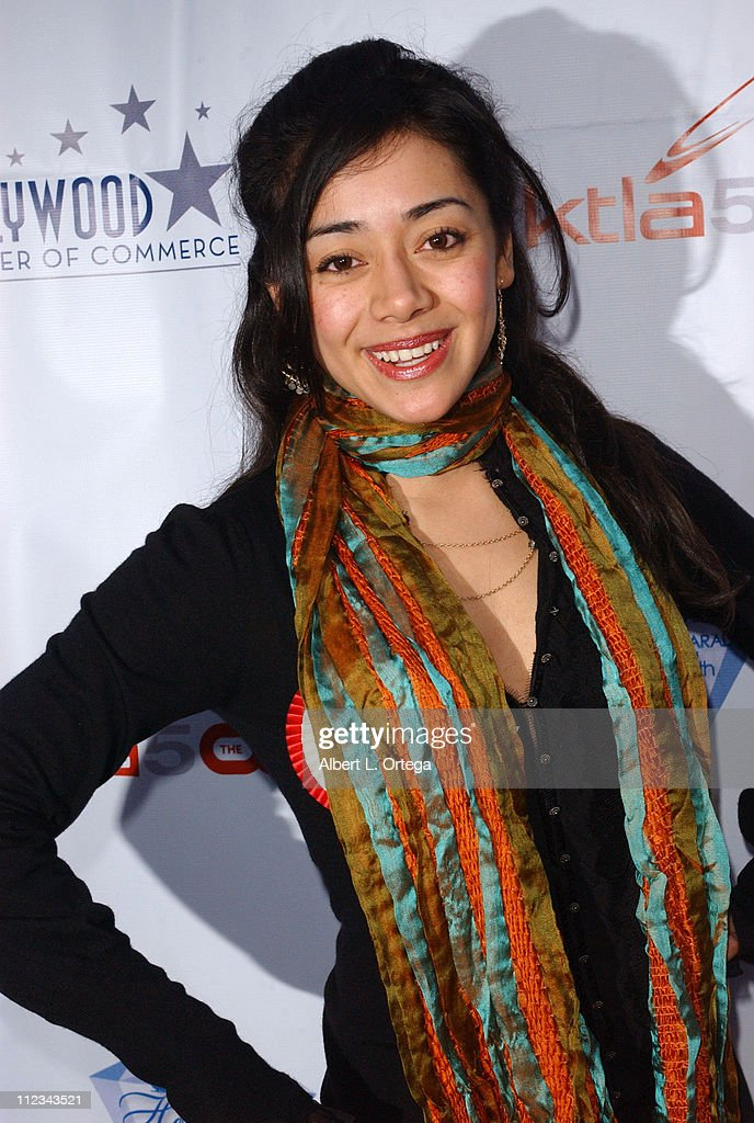 <a gi-track='captionPersonalityLinkClicked' href=/galleries/search?phrase=Aimee+Garcia&family=editorial&specificpeople=561569 ng-click='$event.stopPropagation()'>Aimee Garcia</a> during The 75th Annual Hollywood Christmas Parade - Arrivals at The Hollywood Roosevelt Hotel in Hollywood, CA, United States.