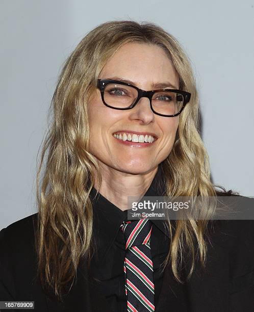 Aimee Mann attends The Friars Club Roast Honors Jack Black at New York Hilton and Towers on April 5 2013 in New York City