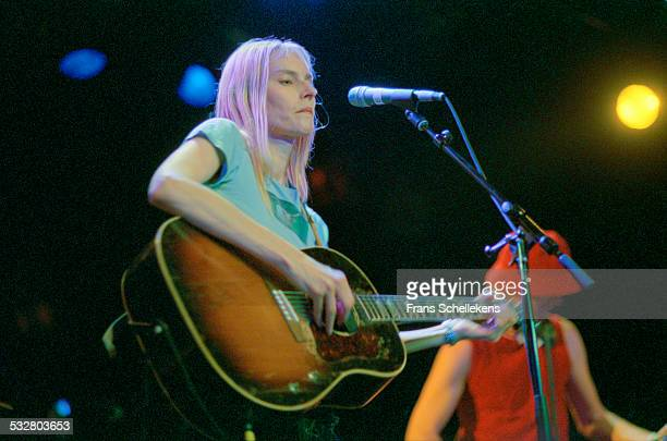 Aimee Mann guitar and vocals performs on June 27th 2001 at the Melkweg in Amsterdam Netherlands