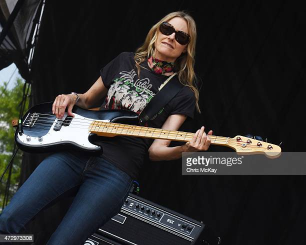Aimee Mann of The Both performs during day 3 of the 3rd Annual Shaky Knees Music Festival at Atlanta Central Park on May 10 2015 in Atlanta City