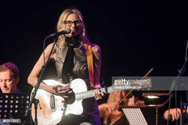 Aimee Mann performs at London Palladium on October 26 2017 in London England
