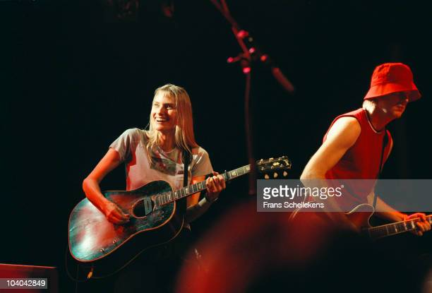 Aimee Mann performs on stage at Melkweg on June 28 2001 in Amsterdam Netherlands
