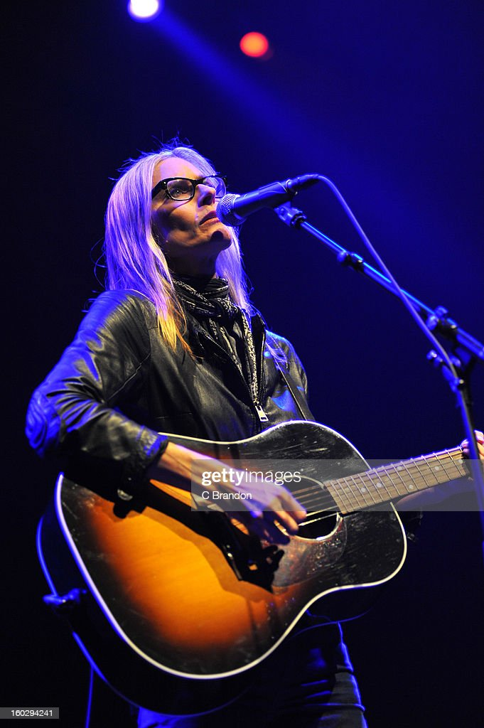 <a gi-track='captionPersonalityLinkClicked' href=/galleries/search?phrase=Aimee+Mann&family=editorial&specificpeople=228529 ng-click='$event.stopPropagation()'>Aimee Mann</a> performs on stage at the Royal Festival Hall on January 28, 2013 in London, England.