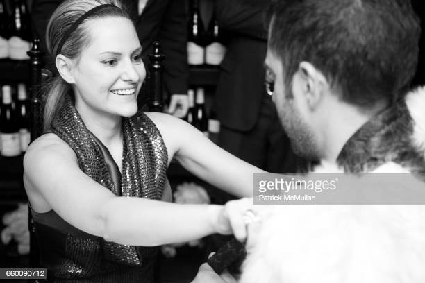 Aimee Mullins attends VILLENCY EMERGING FASHION PROGRAM Dinner for ELISE OVERLAND and threeASFOUR at Bobo on January 21 2009 in New York City