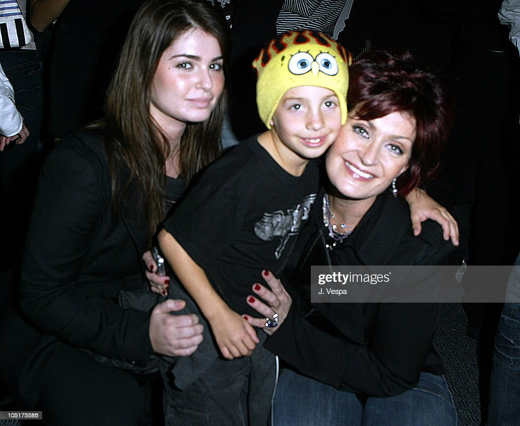 <a gi-track='captionPersonalityLinkClicked' href=/galleries/search?phrase=Aimee+Osbourne&family=editorial&specificpeople=2020508 ng-click='$event.stopPropagation()'>Aimee Osbourne</a>, Jimmy Bennett and <a gi-track='captionPersonalityLinkClicked' href=/galleries/search?phrase=Sharon+Osbourne&family=editorial&specificpeople=203094 ng-click='$event.stopPropagation()'>Sharon Osbourne</a> during 'The Heart is Deceitful Above All Things' Wrap Party at Chateau Marmont in Los Angeles, California, United States.