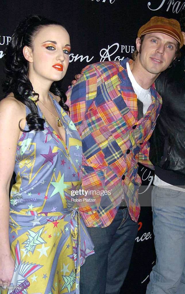 Aimee Phillips with Jake Shears of The Scissor Sisters