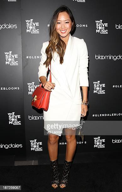 Aimee Song attends Bloomingdale's Glendale Hosts Opening Gala Celebration With VH1 Save The Music Foundation at Bloomingdale's Glendale on November 6...