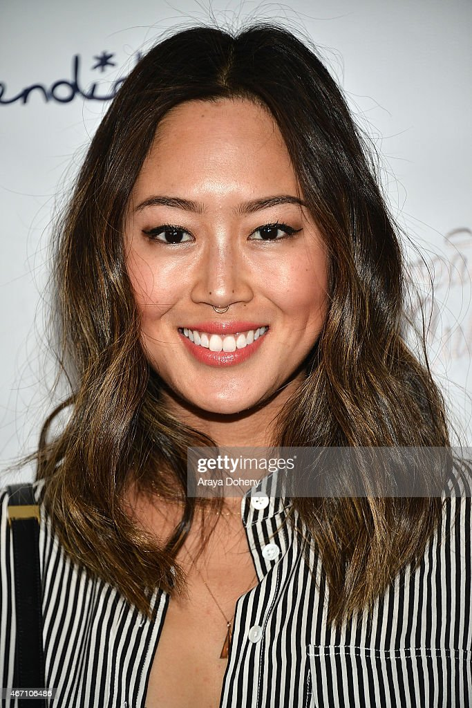 Aimee Song attends Create & Cultivate's Speaker Celebration at The Line Hotel on March 20, 2015 in Los Angeles, California.