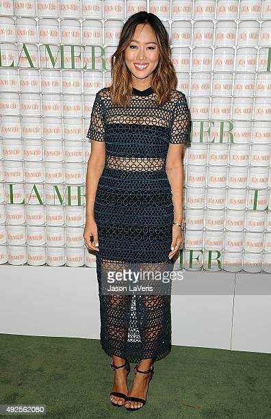 Aimee Song attends the La Mer celebration of an Icon event at Siren Studios on October 13 2015 in Hollywood California