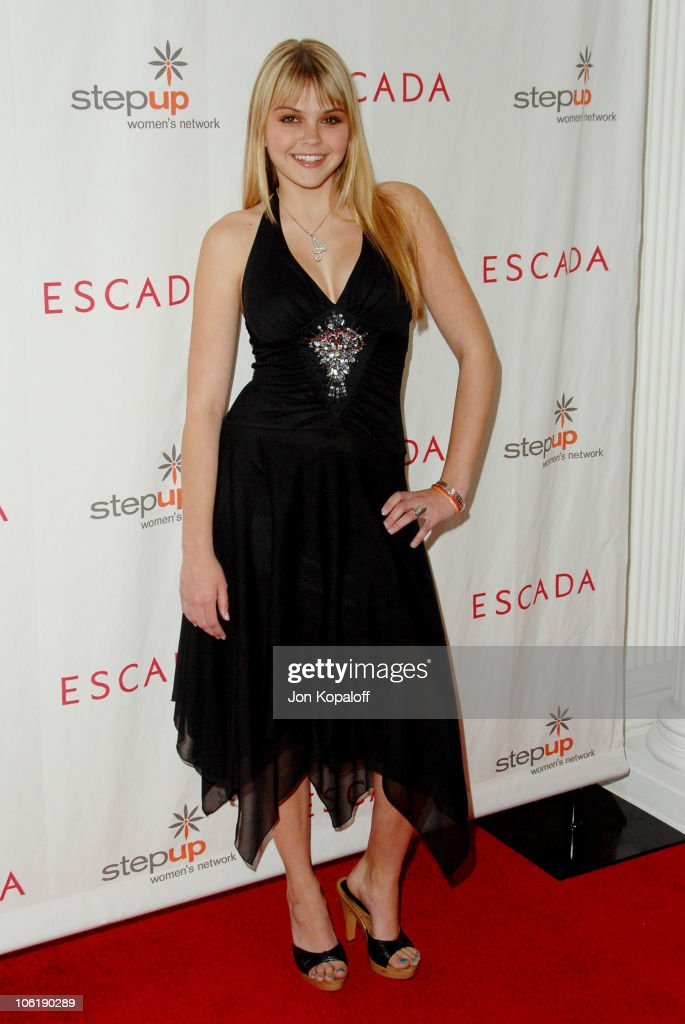 Aimee Teegarden during Escada And Jessica Alba Toast Step Up Women's Network April 19 2007 at Beverly Wilshire Hotel in Beverly Hills California...