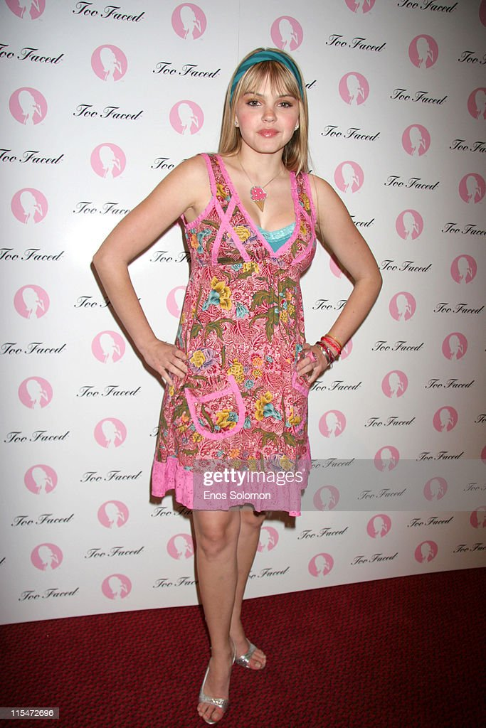 Aimee Teegarden during Too Faced Cosmetics and Sephora Present 'Love Lisa Armed and Glamorous' at Sephora at Hollywood Highland in Hollywood...