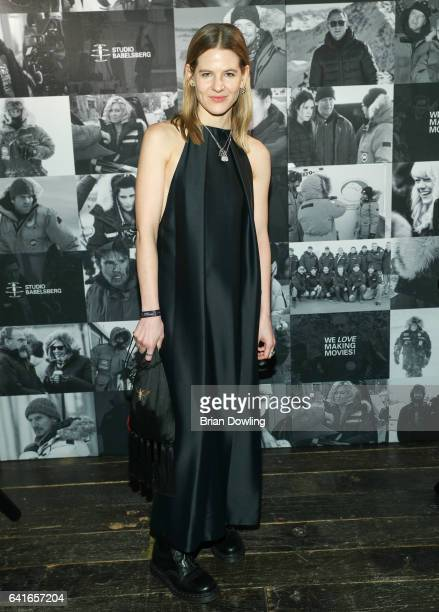 Aino Laberenz attending the Studio Babelsberg x Canada Goose Party at Soho House Berlin during the 67th Berlinale International Film Festival Berlin...