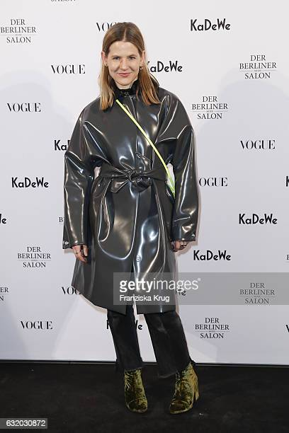 Aino Laberenz attends the celebration of 'Der Berliner Mode Salon' by KaDeWe Vogue at KaDeWe on January 18 2017 in Berlin Germany