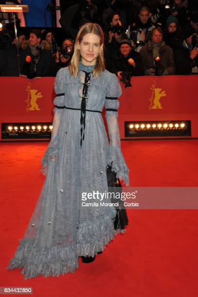 Aino Laberenz attends the 'Django' premiere during the 67th Berlinale International Film Festival Berlin at Berlinale Palace on February 9 2017 in...