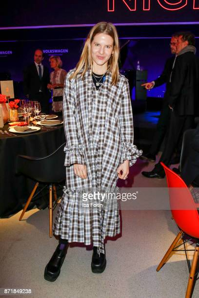 Aino Laberenz attends the Volkswagen Dinner Night prior to the GQ Men of the Year Award 2017 on November 8 2017 in Berlin Germany