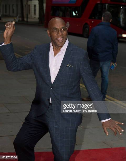 Ainsley Harriott attending the opening night of SadlerOtildes Wells summer tango spectacular Tanguera in London