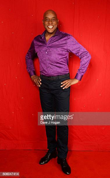 Ainsley Harriott backstage at the Strictly Come Dancing Live Tour rehearsals Strictly Come Dancing Live Tour opens tomorrow 22nd January at the...