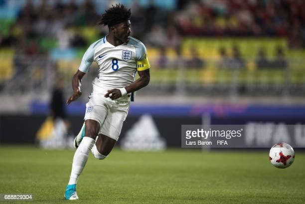 Ainsley MaitlandNiles of England runs with the ball during the FIFA U20 World Cup Korea Republic 2017 group A match between England and Korea...
