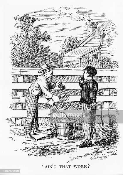 huck finns illustration of kind behavior in mark twains the adventures of tom sawyer The adventures of tom sawyer mark twain buy  full glossary for the adventures of tom sawyer  and by acceptable behavior, huck's life is one of freedom.