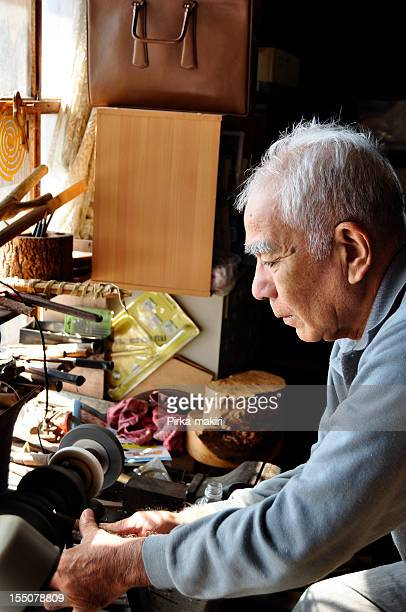 Ainu Craftsman and hunter