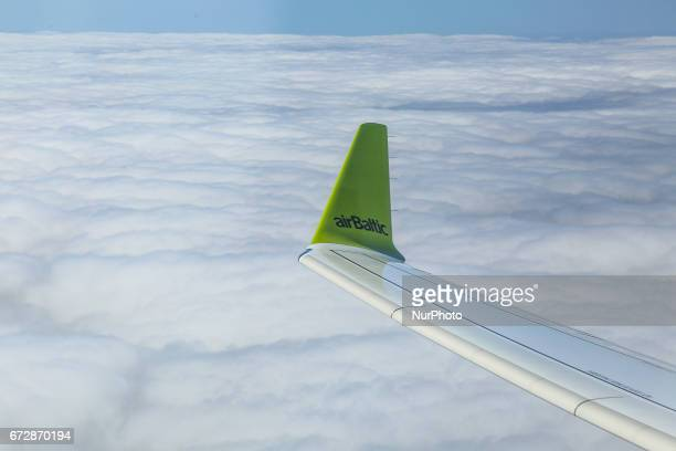 Air Baltic a regional airline based in Riga Latvia is the first operator to fly the brand new Canadian made Bombardier CS300 airplane CS300 is the...