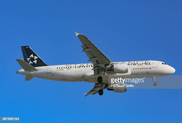 Air Canada Airbus A320 arrives at Los Angeles International Airport on June 18 2017 in Los Angeles California