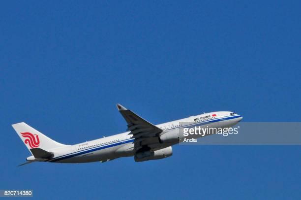 Air China Airbus A330200B6536