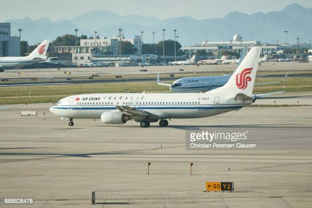 Air China Boeing 737 aircraft in Beijing