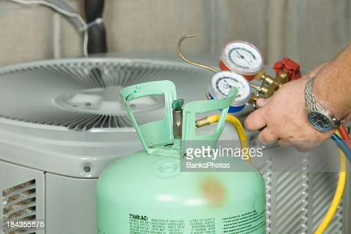 Air Conditioner Repair, Preparing to Charge System