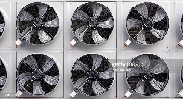 Air conditioning, or refrigeration fans