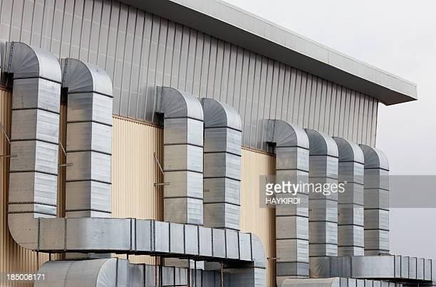 Klimaanlage tubes des Handels-Gebäude
