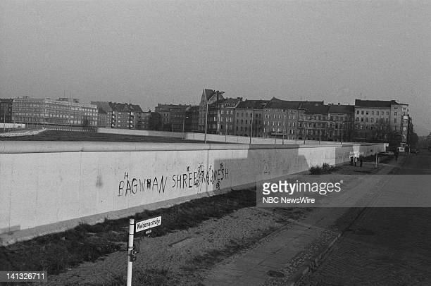 RECORD Air Date Pictured The Berlin Wall in West Germany during an NBC News Special that discusses the growth of Eurocommunism European terrorism and...