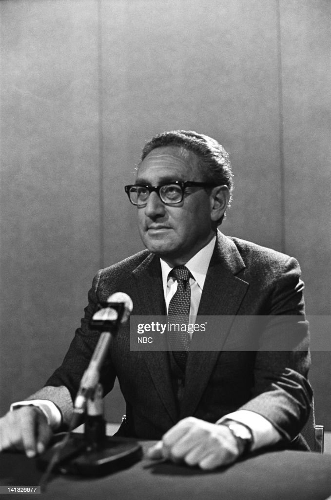 Former U.S. Secretary of State Henry Kissinger -- Photo by: NBCU Photo Bank
