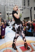 Gwen Stefani No Doubt kicks of this years' Toyota Concert Series on 'Today'