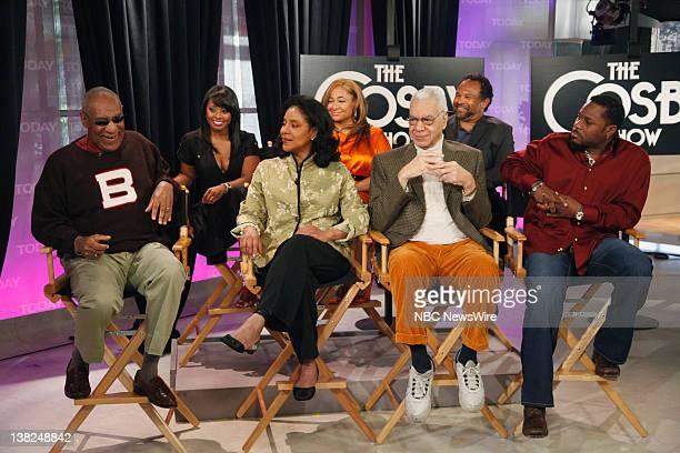 Bill Cosby Phylicia Rashad Earle Hyman MalcolmJamal Warner Keisha Knight Pulliam Raven Symone Geoffrey Owens The cast of The Cosby Show reunite to...