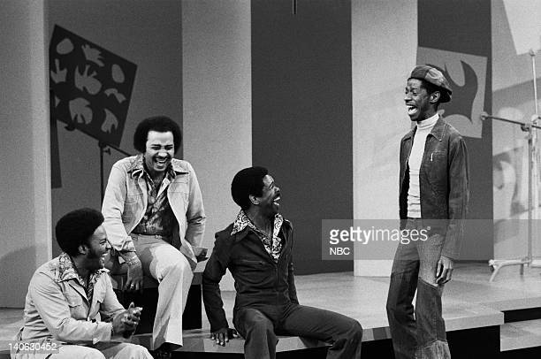 The Pips Eddie Patten William Guest Merald 'Bubba' Knight Jimmie Walker Photo by Paul W Bailey/NBCU Photo Bank