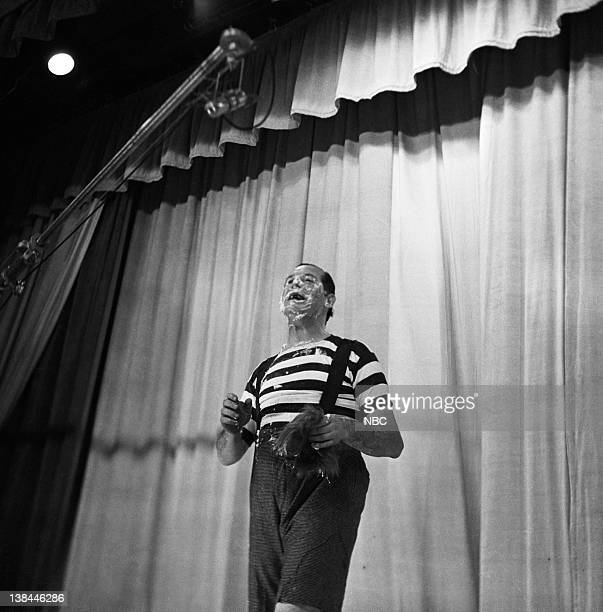 THEATER Air Date Pictured Host Milton Berle in Character