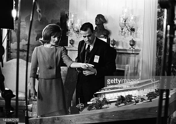 KENNEDY Air Date Pictured First Lady Jacqueline Kennedy discussing plans for the new National Culture Center unknown crew member in the Diplomatic...