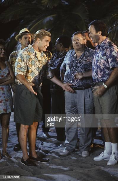 MarkPaul Gosselaar as Zack Morris Dennis Haskins as Mr Richard Belding Photo by Joseph Del Valle/NBCU Photo Bank