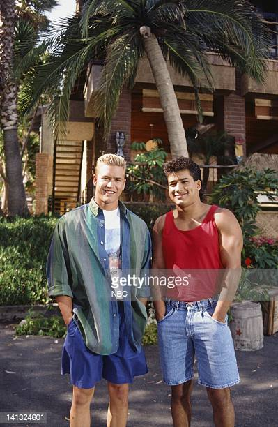 MarkPaul Gosselaar as Zack Morris Mario Lopez as AC Slater Photo by Joseph Del Valle/NBCU Photo Bank