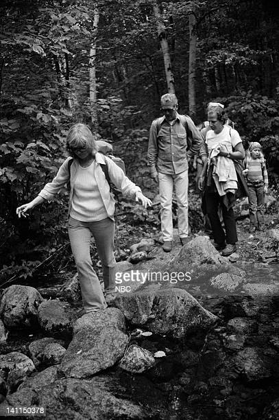 PLACES Air Date Pictured Host actress Joanne Woodward husband actor Paul Newman producer Lee Mendelson in the White Mountain National Forest near...