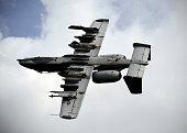 A U.S. Air Force A-10 Thunderbolt.