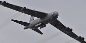 Air Force B52 bomber performs during the Australian International Airshow at the Avalon Airfield near Lara southwest of Melbourne on February 27 2015...