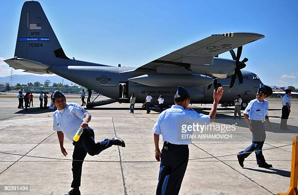 US Air Force Reserve' s WC 130J ?Hurrica