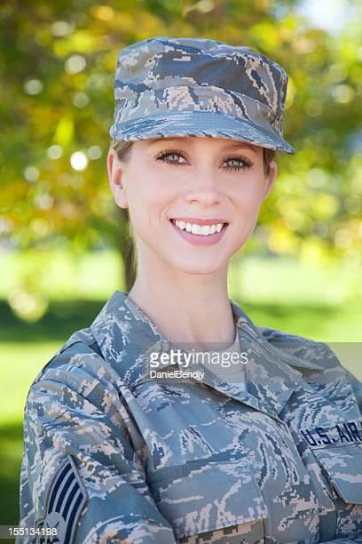 US Air Force serie: American Airwoman all'