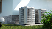 alternative energy concept - 3D illustration