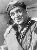 Air mail pilot Jack Knight is shown after his nonstop flight from Salt Lake City to Chicago He was only to fly to Omaha but was forced to fly to...