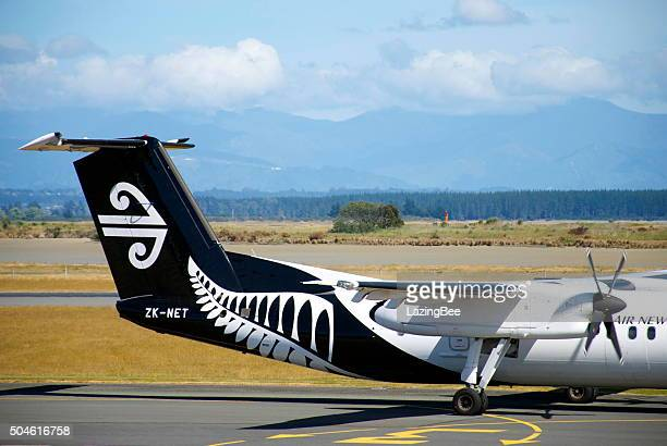 Air New Zealand All Blacks Theme Livery Aeroplane Tail