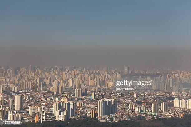Poluição atmosférica da cidade de São Paulo